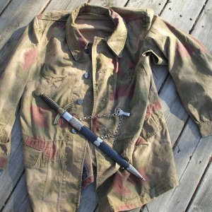 Luftwaffe Ground Crew Jacket from Normandy 1944