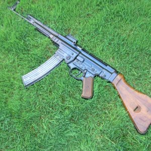 My favorite rifle MP44 Full Auto I'm the 3rd owner